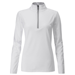 PING Astrid Half-Zip Mid-Layer Pullover - White