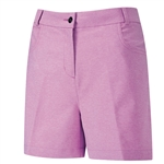 PING Paloma Heathered Golf Short - Berry Marl