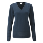 PING Bonnie V-Neck Sweater - Navy