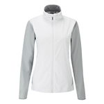 PING Bethan Lightweight Jacket - White / Silver