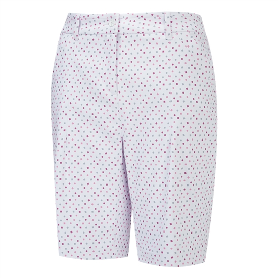 PING Beatrix Bermuda Golf Short - White