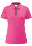 PING Shelby Short Sleeve Polo - Hot Pink