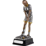 Kirk & Matz Fairways Female Golf Figure Award