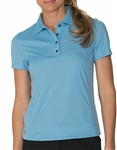Chase54 Brooklyn Short Sleeve Polo - Skylight Blue