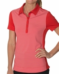 Chase54 Lounge Short Sleeve Polo - Scarlet