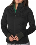 Chase54 Latitude Hybrid Full Zip Jacket - Black
