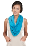 Chase54 Ladies Payton Infinity Scarf- Peacock | Golf4Her