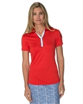 Chase54 Medinah Short Sleeve Polo - Scarlet