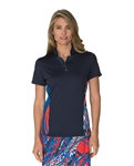 Chase54 Charlotte Short Sleeve Polo - Navy