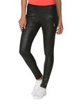 Chase54 Brazil Golf Jegging - Black Crackle Leather