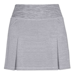 "Chase54 Keen 15"" Pleated Ash Heather Golf Skort"