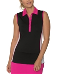 Chase54 Nova Sleeveless Golf Polo