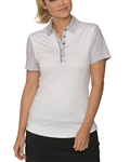 Chase54 Eclipse Snap Placket Golf Polo