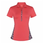 Chase54 Jetty Short Sleeve Polo - Spiced Coral