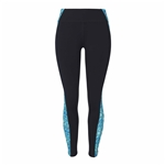 "Chase54 Wave 28""  Legging - Black"