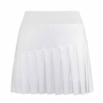 "Chase54 Frost 15"" Pleated Front Golf Skort"