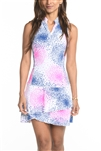 EllaBelle Sleeveless Chacha Dress - Pop!