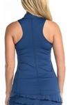 EllaBelle Perfection Racerback Top - Navy