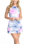 EllaBelle Racie Racerback Dress - Pop!