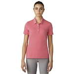 Adidas Essentials Cotton Hand Polo - Core Pink