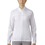 Adidas Essentials Full Zip Wind Jacket - White