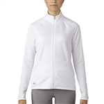 Adidas Essentials 3-Stripe Textured Jacket - White