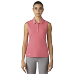 Adidas Essentials Cotton Hand Polo - Core Pink Heather