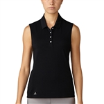 Adidas Essentials Cotton Hand Polo - Black