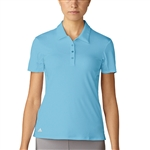 Adidas Essentials 3-Stripes Short Sleeve Icey Blue Polo
