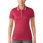 Adidas Pique Short Sleeve Energy Pink Polo