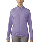 Adidas Essentials Full Zip Purple Glow Wind Jacket