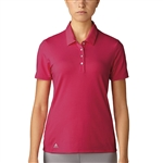 Adidas Essentials Energy Pink Hand Polo - Black