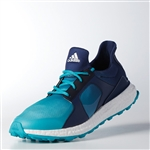 Adidas Women's Climacross Boost Golf Shoe - Energy Blue / Night Sky
