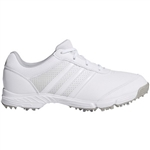 Adidas Tech Response Golf Shoe - White, Matte Silver