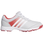 Adidas Tech Response Golf Shoe - Grey/Core Pink