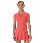 Adidas Girls Rangewear Easy Coral Golf Dress
