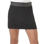Adidas Girls Rangewear Black Golf Skort