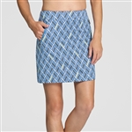 "Tail Darby 18"" Golf Skort - Geometric"