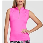 Tail Boston Sleeveless Mock - Azalea