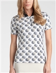 Tail Clemente Short Sleeve Golf Top - Cirque