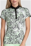 Tail Janet Short Sleeve Golf Mock - Honeydew Boa