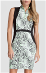 Tail Willow Golf Dress - Boa-Honeydew