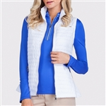 Tail Lee White Quilted Vest