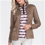 Tail Perla Truffle Quilted Jacket