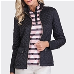 Tail Perla Black Quilted Jacket