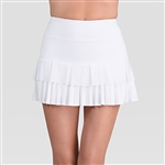 Tail Amalia Sunburst Pleat White Tennis Skort