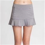 Tail Jennifer Flounce Frosted Heather Tennis Skort