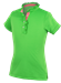 Garb Piper Girls Green Golf Polo