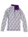 Garb Avalon Girls Golf Pullover Jacket - Water Colors