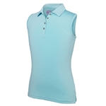 Garb Girls Kelly Blue Sleeveless Polo